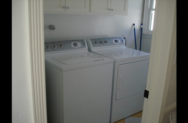 Laundry room; back porch