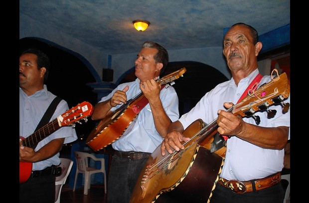 Enjoy local marichaci bands at local restaurants